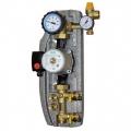 Насосно-регулюючий модуль для геліосистеми - однотрубний з витратоміром 2-12 л, насос Wilo Eco ST 15/6