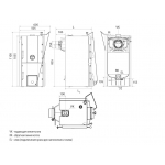 Твердопаливний котел Buderus Logano G221-25D