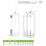 Акумулюючі ємності (баки) Drazice NAD 1000 v2