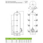 Акумулюючі ємності (баки) Drazice NAD 500 v3