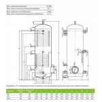 Акумулюючі ємності (баки) Drazice NAD 1000 v5
