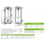 Акумулюючі ємності (баки) Drazice NADO 1000 /200 v1