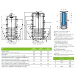 Акумулюючі ємності (баки) Drazice NADO 1000 /200 v7