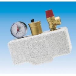 Група безпеки котла Watts KSG 30/25M-ISO з термоізоляцією