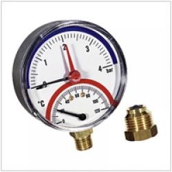"""Термоманометр Watts TMRA 4х1/2"""" - радіальний"""