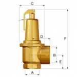 Запобіжний клапан Wilo Prescor S 1 1/2, 2 bar