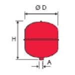 Розширювальні баки reflex NG 8  для опалення